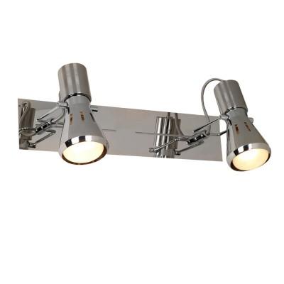 Citilux Марс CL527521 Светильник поворотный спотДвойные<br>Светильники-споты – это оригинальные изделия с современным дизайном. Они позволяют не ограничивать свою фантазию при выборе освещения для интерьера. Такие модели обеспечивают достаточно качественный свет. Благодаря компактным размерам Вы можете использовать несколько спотов для одного помещения. <br>Интернет-магазин «Светодом» предлагает необычный светильник-спот Citilux CL527521 по привлекательной цене. Эта модель станет отличным дополнением к люстре, выполненной в том же стиле. Перед оформлением заказа изучите характеристики изделия. <br>Купить светильник-спот Citilux CL527521 в нашем онлайн-магазине Вы можете либо с помощью формы на сайте, либо по указанным выше телефонам. Обратите внимание, что у нас склады не только в Москве и Екатеринбурге, но и других городах России.<br><br>S освещ. до, м2: 5<br>Крепление: настенное<br>Тип лампы: зеркальная<br>Тип цоколя: R50(E14)<br>Цвет арматуры: серебристый хром<br>Количество ламп: 2<br>Ширина, мм: 70<br>Размеры: Основание 32х7см, Размер головки 13см<br>Длина, мм: 320<br>Высота, мм: 130<br>Оттенок (цвет): белый<br>MAX мощность ламп, Вт: 40
