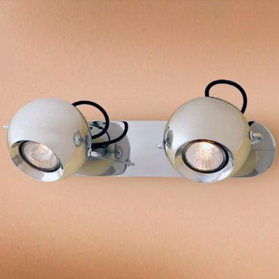 Citilux Сфера CL532521 Светильник настенно-потолочныйДвойные<br>Светильники-споты – это оригинальные изделия с современным дизайном. Они позволяют не ограничивать свою фантазию при выборе освещения для интерьера. Такие модели обеспечивают достаточно качественный свет. Благодаря компактным размерам Вы можете использовать несколько спотов для одного помещения.  Интернет-магазин «Светодом» предлагает необычный светильник-спот Citilux CL532521 по привлекательной цене. Эта модель станет отличным дополнением к люстре, выполненной в том же стиле. Перед оформлением заказа изучите характеристики изделия.  Купить светильник-спот Citilux CL532521 в нашем онлайн-магазине Вы можете либо с помощью формы на сайте, либо по указанным выше телефонам. Обратите внимание, что у нас склады не только в Москве и Екатеринбурге, но и других городах России.<br><br>Тип лампы: галогенная/LED<br>Тип цоколя: GU10<br>Количество ламп: 2<br>Ширина, мм: 130<br>MAX мощность ламп, Вт: 50<br>Размеры: Габариты основания 32х7см, Диаметр шара 10см, Шнур в текстильной оболочке<br>Длина, мм: 175<br>Высота, мм: 340<br>Цвет арматуры: серебристый хром