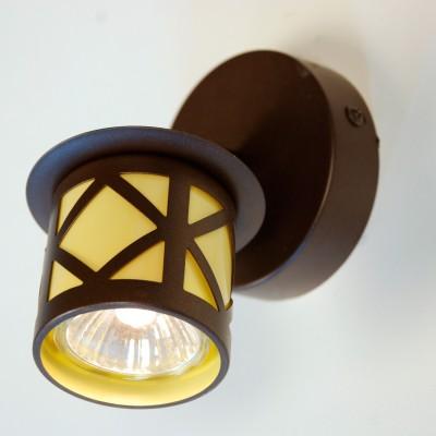 Citilux Гессен CL536511 Светильник настенно-потолочныйОдиночные<br><br><br>S освещ. до, м2: 3<br>Тип лампы: галогенная / LED-светодиодная<br>Тип цоколя: GU10<br>Цвет арматуры: коричневый<br>Количество ламп: 1<br>Диаметр, мм мм: 90<br>Размеры: Диаметр основания 9см, Глубина до 12см, Размер головки 9см<br>Расстояние от стены, мм: 120<br>Поверхность арматуры: матовый<br>MAX мощность ламп, Вт: 50