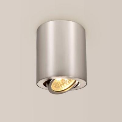 Citilux Дюрен CL538110 Светильник потолочныйДекоративные<br>Настенно-потолочные светильники – это универсальные осветительные варианты, которые подходят для вертикального и горизонтального монтажа. В интернет-магазине «Светодом» Вы можете приобрести подобные модели по выгодной стоимости. В нашем каталоге представлены как бюджетные варианты, так и эксклюзивные изделия от производителей, которые уже давно заслужили доверие дизайнеров и простых покупателей.  Настенно-потолочный светильник Citilux CL538110 станет прекрасным дополнением к основному освещению. Благодаря качественному исполнению и применению современных технологий при производстве эта модель будет радовать Вас своим привлекательным внешним видом долгое время. Приобрести настенно-потолочный светильник Citilux CL538110 можно, находясь в любой точке России.<br><br>S освещ. до, м2: 3<br>Тип лампы: галогенная/LED<br>Тип цоколя: GU10<br>Количество ламп: 1<br>MAX мощность ламп, Вт: 50<br>Диаметр, мм мм: 80<br>Размеры: Диаметр 8см, Высота 8,5см, Возможность регулировать направление света лампы, исключительно солидный дизайн всех компонентов<br>Высота, мм: 85<br>Цвет арматуры: серебристый