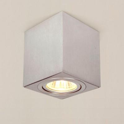 Citilux Дюрен CL538210 Светильник потолочныйДекоративные<br>Настенно-потолочные светильники – это универсальные осветительные варианты, которые подходят для вертикального и горизонтального монтажа. В интернет-магазине «Светодом» Вы можете приобрести подобные модели по выгодной стоимости. В нашем каталоге представлены как бюджетные варианты, так и эксклюзивные изделия от производителей, которые уже давно заслужили доверие дизайнеров и простых покупателей.  Настенно-потолочный светильник Citilux CL538210 станет прекрасным дополнением к основному освещению. Благодаря качественному исполнению и применению современных технологий при производстве эта модель будет радовать Вас своим привлекательным внешним видом долгое время. Приобрести настенно-потолочный светильник Citilux CL538210 можно, находясь в любой точке России.<br><br>S освещ. до, м2: 3<br>Тип лампы: галогенная/LED<br>Тип цоколя: GU10<br>Количество ламп: 1<br>MAX мощность ламп, Вт: 50<br>Размеры: Габариты 8х8см, Высота 8,5см, Возможность регулировать направление света лампы, исключительно солидный дизайн всех компонентов<br>Цвет арматуры: серебристый