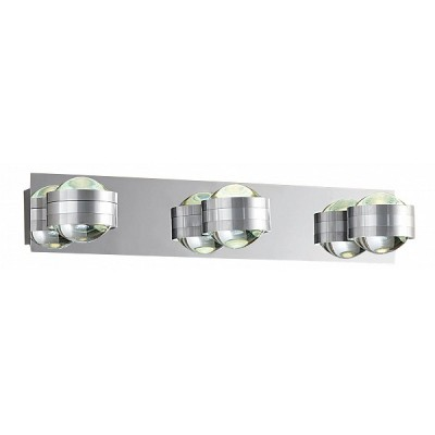 Citilux Пойнт CL552331 Светильник поворотный спотТройные<br>Светильники-споты – это оригинальные изделия с современным дизайном. Они позволяют не ограничивать свою фантазию при выборе освещения для интерьера. Такие модели обеспечивают достаточно качественный свет. Благодаря компактным размерам Вы можете использовать несколько спотов для одного помещения.  Интернет-магазин «Светодом» предлагает необычный светильник-спот Citilux CL552331 по привлекательной цене. Эта модель станет отличным дополнением к люстре, выполненной в том же стиле. Перед оформлением заказа изучите характеристики изделия.  Купить светильник-спот Citilux CL552331 в нашем онлайн-магазине Вы можете либо с помощью формы на сайте, либо по указанным выше телефонам. Обратите внимание, что у нас склады не только в Москве и Екатеринбурге, но и других городах России.<br><br>S освещ. до, м2: 5<br>Цветовая t, К: 3000<br>Тип лампы: LED - светодиодная<br>Тип цоколя: LED*3W*3000K<br>Количество ламп: 6<br>Ширина, мм: 420<br>Длина, мм: 110<br>Высота, мм: 80<br>Поверхность арматуры: глянцевый<br>Оттенок (цвет): белый<br>Цвет арматуры: серебристый