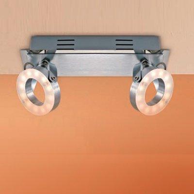 Citilux Бильбо CL553521 Светильник поворотный спотДвойные<br>Светильники-споты – это оригинальные изделия с современным дизайном. Они позволяют не ограничивать свою фантазию при выборе освещения для интерьера. Такие модели обеспечивают достаточно качественный свет. Благодаря компактным размерам Вы можете использовать несколько спотов для одного помещения.  Интернет-магазин «Светодом» предлагает необычный светильник-спот Citilux CL553521 по привлекательной цене. Эта модель станет отличным дополнением к люстре, выполненной в том же стиле. Перед оформлением заказа изучите характеристики изделия.  Купить светильник-спот Citilux CL553521 в нашем онлайн-магазине Вы можете либо с помощью формы на сайте, либо по указанным выше телефонам. Обратите внимание, что мы предлагаем доставку не только по Москве и Екатеринбургу, но и всем остальным российским городам.<br><br>Цветовая t, К: 3000<br>Тип лампы: LED - светодиодная<br>Количество ламп: 2<br>Ширина, мм: 80<br>MAX мощность ламп, Вт: 6<br>Размеры: LED 6W<br>Длина, мм: 250<br>Высота, мм: 130<br>Цвет арматуры: серебристый