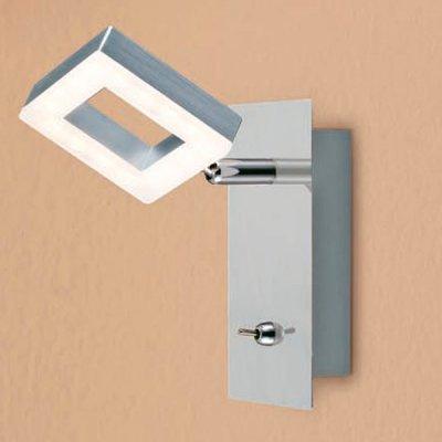 Citilux Квадро CL554511 Светильник поворотный спотОдиночные<br>Светильники-споты – это оригинальные изделия с современным дизайном. Они позволяют не ограничивать свою фантазию при выборе освещения для интерьера. Такие модели обеспечивают достаточно качественный свет. Благодаря компактным размерам Вы можете использовать несколько спотов для одного помещения.  Интернет-магазин «Светодом» предлагает необычный светильник-спот Citilux CL554511 по привлекательной цене. Эта модель станет отличным дополнением к люстре, выполненной в том же стиле. Перед оформлением заказа изучите характеристики изделия.  Купить светильник-спот Citilux CL554511 в нашем онлайн-магазине Вы можете либо с помощью формы на сайте, либо по указанным выше телефонам. Обратите внимание, что у нас склады не только в Москве и Екатеринбурге, но и других городах России.<br><br>Цветовая t, К: 3000<br>Тип лампы: LED - светодиодная<br>Количество ламп: 1<br>Ширина, мм: 80<br>MAX мощность ламп, Вт: 6,4<br>Размеры: LED 6,4W<br>Расстояние от стены, мм: 155<br>Высота, мм: 150<br>Поверхность арматуры: глянцевый<br>Цвет арматуры: серебристый