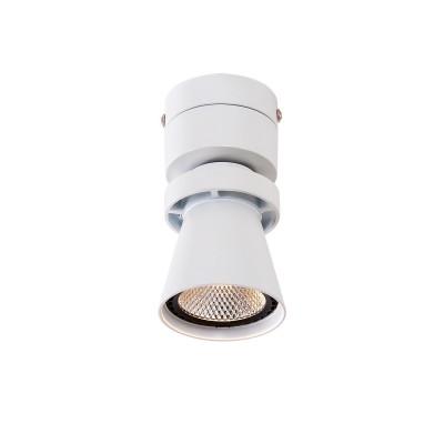 Citilux Дубль-1 CL556510 Светильник настненно-потолочныйОдиночные<br>Светильники-споты – это оригинальные изделия с современным дизайном. Они позволяют не ограничивать свою фантазию при выборе освещения для интерьера. Такие модели обеспечивают достаточно качественный свет. Благодаря компактным размерам Вы можете использовать несколько спотов для одного помещения.  Интернет-магазин «Светодом» предлагает необычный светильник-спот Citilux CL556510 по привлекательной цене. Эта модель станет отличным дополнением к люстре, выполненной в том же стиле. Перед оформлением заказа изучите характеристики изделия.  Купить светильник-спот Citilux CL556510 в нашем онлайн-магазине Вы можете либо с помощью формы на сайте, либо по указанным выше телефонам. Обратите внимание, что у нас склады не только в Москве и Екатеринбурге, но и других городах России.<br><br>S освещ. до, м2: 3<br>Цветовая t, К: 3000K<br>Тип лампы: LED-светодиодная<br>Тип цоколя: LED<br>Цвет арматуры: Белый<br>Количество ламп: 1<br>Ширина, мм: 135<br>Длина, мм: 70<br>Высота, мм: 130<br>MAX мощность ламп, Вт: 7