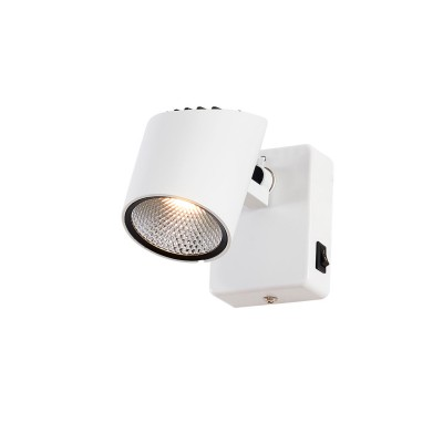 Citilux Дубль-2 CL556610 Светильник настненно-потолочныйодиночные споты<br>Светильники-споты – это оригинальные изделия с современным дизайном. Они позволяют не ограничивать свою фантазию при выборе освещения для интерьера. Такие модели обеспечивают достаточно качественный свет. Благодаря компактным размерам Вы можете использовать несколько спотов для одного помещения.  Интернет-магазин «Светодом» предлагает необычный светильник-спот Citilux CL556610 по привлекательной цене. Эта модель станет отличным дополнением к люстре, выполненной в том же стиле. Перед оформлением заказа изучите характеристики изделия.  Купить светильник-спот Citilux CL556610 в нашем онлайн-магазине Вы можете либо с помощью формы на сайте, либо по указанным выше телефонам. Обратите внимание, что у нас склады не только в Москве и Екатеринбурге, но и других городах России.<br><br>S освещ. до, м2: 3<br>Цветовая t, К: 3000K<br>Тип лампы: LED-светодиодная<br>Тип цоколя: LED<br>Цвет арматуры: Белый<br>Количество ламп: 1<br>Ширина, мм: 130<br>Длина, мм: 65<br>Высота, мм: 80<br>MAX мощность ламп, Вт: 7