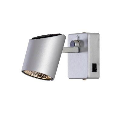 Citilux Дубль-2 CL556611 Светильник настненно-потолочныйОдиночные<br>Светильники-споты – это оригинальные изделия с современным дизайном. Они позволяют не ограничивать свою фантазию при выборе освещения для интерьера. Такие модели обеспечивают достаточно качественный свет. Благодаря компактным размерам Вы можете использовать несколько спотов для одного помещения.  Интернет-магазин «Светодом» предлагает необычный светильник-спот Citilux CL556611 по привлекательной цене. Эта модель станет отличным дополнением к люстре, выполненной в том же стиле. Перед оформлением заказа изучите характеристики изделия.  Купить светильник-спот Citilux CL556611 в нашем онлайн-магазине Вы можете либо с помощью формы на сайте, либо по указанным выше телефонам. Обратите внимание, что у нас склады не только в Москве и Екатеринбурге, но и других городах России.<br><br>Цветовая t, К: 3000K<br>Тип лампы: LED-светодиодная<br>Тип цоколя: LED<br>Количество ламп: 1<br>Ширина, мм: 130<br>MAX мощность ламп, Вт: 7<br>Длина, мм: 65<br>Высота, мм: 80<br>Цвет арматуры: Серебристый