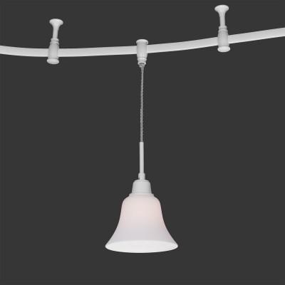 Citilux Модерн CL560210 Трековый светильникСветильники для трека<br><br><br>Тип лампы: накаливания / энергосбережения / LED-светодиодная<br>Тип цоколя: E27<br>Количество ламп: 1<br>MAX мощность ламп, Вт: 75<br>Диаметр, мм мм: 175<br>Высота, мм: 400 - 1910<br>Цвет арматуры: Белый