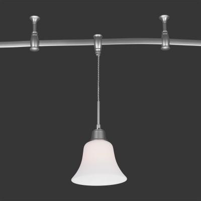Citilux Модерн CL560211 Трековый светильникСветильники для трека<br><br><br>Тип лампы: накаливания / энергосбережения / LED-светодиодная<br>Тип цоколя: E27<br>Количество ламп: 1<br>MAX мощность ламп, Вт: 75<br>Диаметр, мм мм: 175<br>Высота, мм: 400 - 1910<br>Цвет арматуры: Серебр