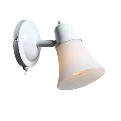 Citilux Модерн CL560510 Светильник настенно-потолочныйСовременные<br><br><br>Тип лампы: накаливания / энергосбережения / LED-светодиодная<br>Тип цоколя: E14<br>Цвет арматуры: белый<br>Количество ламп: 1<br>Диаметр, мм мм: 120<br>Размеры: Настенно-потолочный светильник к трековой системе, размер головки 12см, лампы Е14 или R50, Белое стекло и современный дизайн, с выключателем<br>Поверхность арматуры: матовый<br>MAX мощность ламп, Вт: 60