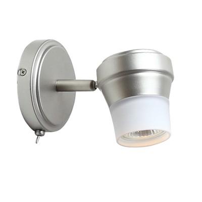 Светильник Citilux CL561511 АкцентОдиночные<br>Светильники-споты – это оригинальные изделия с современным дизайном. Они позволяют не ограничивать свою фантазию при выборе освещения для интерьера. Такие модели обеспечивают достаточно качественный свет. Благодаря компактным размерам Вы можете использовать несколько спотов для одного помещения.  Интернет-магазин «Светодом» предлагает необычный светильник-спот Citilux CL561511 Акцент по привлекательной цене. Эта модель станет отличным дополнением к люстре, выполненной в том же стиле. Перед оформлением заказа изучите характеристики изделия.  Купить светильник-спот Citilux CL561511 Акцент в нашем онлайн-магазине Вы можете либо с помощью формы на сайте, либо по указанным выше телефонам. Обратите внимание, что у нас склады не только в Москве и Екатеринбурге, но и других городах России.<br><br>Тип лампы: галогенная / LED-светодиодная<br>Тип цоколя: GU10<br>Количество ламп: 1<br>MAX мощность ламп, Вт: 50<br>Диаметр, мм мм: 110<br>Размеры: Настенно-потолочный светильник к трековой системе, размер головки 11см, лампы GU10,  Белое стекло и современный дизайн<br>Поверхность арматуры: матовый<br>Цвет арматуры: серебристый