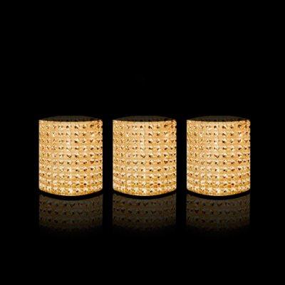 Светодиодные свечи ФАZA CL6-SET3g золото (3шт)Светодиодные свечи<br><br><br>Тип лампы: LED<br>Диаметр, мм мм: 52<br>Высота, мм: 60