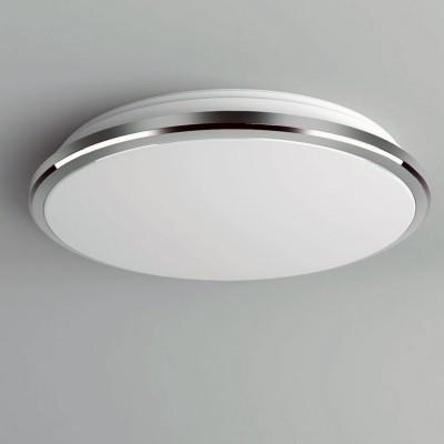 Citilux Луна CL702161W Светильник настненно-потолочныйКруглые<br>Настенно-потолочные светильники – это универсальные осветительные варианты, которые подходят для вертикального и горизонтального монтажа. В интернет-магазине «Светодом» Вы можете приобрести подобные модели по выгодной стоимости. В нашем каталоге представлены как бюджетные варианты, так и эксклюзивные изделия от производителей, которые уже давно заслужили доверие дизайнеров и простых покупателей.  Настенно-потолочный светильник Citilux CL702161W станет прекрасным дополнением к основному освещению. Благодаря качественному исполнению и применению современных технологий при производстве эта модель будет радовать Вас своим привлекательным внешним видом долгое время. Приобрести настенно-потолочный светильник Citilux CL702161W можно, находясь в любой точке России.<br><br>S освещ. до, м2: 8<br>Цветовая t, К: 3000K<br>Тип лампы: LED-светодиодная<br>Тип цоколя: LED<br>MAX мощность ламп, Вт: 16<br>Диаметр, мм мм: 280<br>Высота, мм: 65<br>Цвет арматуры: серебристый хром<br>Общая мощность, Вт: 16W светодиодов = 160W накаливания