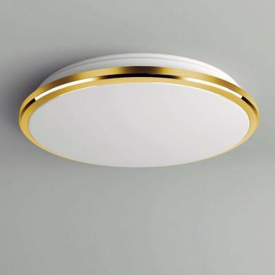 Citilux Луна CL702162W Светильник настненно-потолочныйКруглые<br>Настенно-потолочные светильники – это универсальные осветительные варианты, которые подходят для вертикального и горизонтального монтажа. В интернет-магазине «Светодом» Вы можете приобрести подобные модели по выгодной стоимости. В нашем каталоге представлены как бюджетные варианты, так и эксклюзивные изделия от производителей, которые уже давно заслужили доверие дизайнеров и простых покупателей.  Настенно-потолочный светильник Citilux CL702162W станет прекрасным дополнением к основному освещению. Благодаря качественному исполнению и применению современных технологий при производстве эта модель будет радовать Вас своим привлекательным внешним видом долгое время. Приобрести настенно-потолочный светильник Citilux CL702162W можно, находясь в любой точке России.<br><br>S освещ. до, м2: 8<br>Цветовая t, К: 3000K<br>Тип лампы: LED-светодиодная<br>Тип цоколя: LED<br>MAX мощность ламп, Вт: 16<br>Диаметр, мм мм: 280<br>Высота, мм: 65<br>Цвет арматуры: золотой<br>Общая мощность, Вт: 16W светодиодов = 160W накаливания