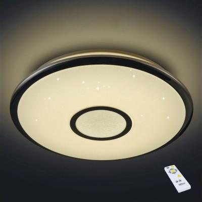 Citilux СтарЛайт CL70360R Светодиодный светильник с пультомКруглые<br>Настенно-потолочные светильники – это универсальные осветительные варианты, которые подходят для вертикального и горизонтального монтажа. В интернет-магазине «Светодом» Вы можете приобрести подобные модели по выгодной стоимости. В нашем каталоге представлены как бюджетные варианты, так и эксклюзивные изделия от производителей, которые уже давно заслужили доверие дизайнеров и простых покупателей. <br>Настенно-потолочный светильник Citilux CL70360R станет прекрасным дополнением к основному освещению. Благодаря качественному исполнению и применению современных технологий при производстве эта модель будет радовать Вас своим привлекательным внешним видом долгое время. <br>Приобрести настенно-потолочный светильник Citilux CL70360R можно, находясь в любой точке России.<br><br>S освещ. до, м2: 30<br>Цветовая t, К: 3000 - 4500<br>Тип лампы: LED<br>Тип цоколя: LED<br>Цвет арматуры: серебристый<br>Диаметр, мм мм: 550<br>Размеры: Диаметр 55см,  Высота 9см, светодиодный светильник с управлением с пульта и выключателя, регулировка яркости и цветовой температуры в широких пределах, функция ночника, красивейший эффект хрустального света.<br>Высота, мм: 90<br>MAX мощность ламп, Вт: 60<br>Общая мощность, Вт: 60W светодиодов = 600W накаливания