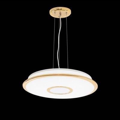 CL70362RS Citilux СТАРЛАЙТПодвесные<br><br><br>Установка на натяжной потолок: Да<br>S освещ. до, м2: 16<br>Тип лампы: LED<br>Тип цоколя: LED<br>Цвет арматуры: золотой<br>Диаметр, мм мм: 465<br>Высота, мм: 210 - 1300<br>MAX мощность ламп, Вт: 40