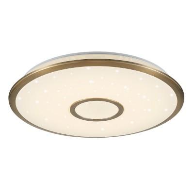 Citilux СтарЛайт CL70363R Светильник с пультомкруглые светильники<br>Компания «Светодом» предлагает широкий ассортимент люстр от известных производителей. Представленные в нашем каталоге товары выполнены из современных материалов и обладают отличным качеством. Благодаря широкому ассортименту Вы сможете найти у нас люстру под любой интерьер. Мы предлагаем как классические варианты, так и современные модели, отличающиеся лаконичностью и простотой форм. <br>Стильная люстра Citilux CL70363R станет украшением любого дома. Эта модель от известного производителя не оставит равнодушным ценителей красивых и оригинальных предметов интерьера. Люстра Citilux CL70363R обеспечит равномерное распределение света по всей комнате. При выборе обратите внимание на характеристики, позволяющие приобрести наиболее подходящую модель. <br>Купить понравившуюся люстру по доступной цене Вы можете в интернет-магазине «Светодом».<br><br>Установка на натяжной потолок: Да<br>S освещ. до, м2: 22<br>Крепление: Планка<br>Цветовая t, К: 3000 - 4500<br>Тип лампы: LED<br>Тип цоколя: LED<br>Диаметр, мм мм: 515<br>Высота, мм: 75<br>MAX мощность ламп, Вт: 60<br>Общая мощность, Вт: 60W светодиодов = 600W накаливания