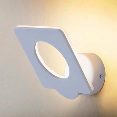 Citilux Декарт-5 CL704050 Светильник настенный браХай-тек<br><br><br>Цветовая t, К: 3000<br>Тип лампы: LED<br>Тип цоколя: LED<br>Количество ламп: 9<br>Ширина, мм: 140<br>MAX мощность ламп, Вт: 10<br>Размеры: Светодиодный светильник теплого света (ЦТ=3000К), Положение светящейся части регулируется, Ширина 14см, Высота 15см, Глубина от 7см<br>Расстояние от стены, мм: 70<br>Высота, мм: 150<br>Цвет арматуры: белый