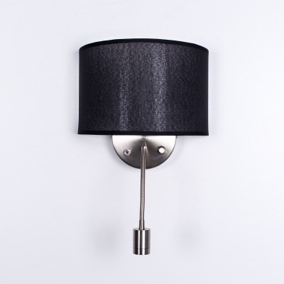 Citilux Декарт CL704305 Светильник настенный брасовременные бра модерн<br><br><br>Тип лампы: накаливания / энергосбережения / LED-светодиодная<br>Тип цоколя: E14<br>Цвет арматуры: серебристый<br>Количество ламп: 2<br>Ширина, мм: 260<br>Расстояние от стены, мм: 130<br>Высота, мм: 240<br>Поверхность арматуры: матовая<br>MAX мощность ламп, Вт: 60