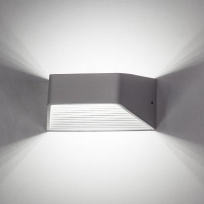 Citilux Декарт CL704310 Светильник настенный браХай-тек<br><br><br>Тип товара: Светильник настенный бра<br>Цветовая t, К: 3000K<br>Тип лампы: LED-светодиодная<br>Количество ламп: 6<br>Ширина, мм: 100<br>MAX мощность ламп, Вт: 1<br>Длина, мм: 175<br>Высота, мм: 80<br>Оттенок (цвет): Белый<br>Цвет арматуры: Белый