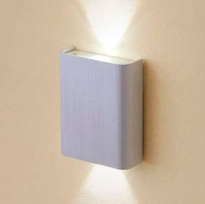 Citilux Декарт CL704401 Светильник настенный браХай-тек<br><br><br>Тип лампы: LED<br>Тип цоколя: LED*3W*3000K<br>Количество ламп: 2<br>Ширина, мм: 100<br>Размеры: Ширина 8см, Высота 10см, Глубина 3,5см, C выключателем, Мощность 3W+3W<br>Длина, мм: 125<br>Высота, мм: 45<br>Цвет арматуры: серебристый