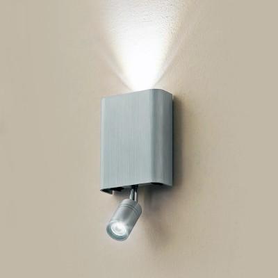 Citilux Декарт CL704411 Светильник настенный браХай-тек<br><br><br>Цветовая t, К: 3000<br>Тип лампы: LED<br>Тип цоколя: LED<br>Количество ламп: 2<br>Ширина, мм: 100<br>MAX мощность ламп, Вт: 3<br>Размеры: Ширина 9см, Высота 11см, Глубина 3,5см (без учета поворотной головки для чтения), Отдельные выключатели верхнего света и света для чтения, мощность 3W+3W<br>Длина, мм: 205<br>Высота, мм: 45<br>Цвет арматуры: серебристый