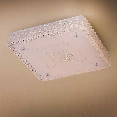 Citilux Кристалино CL705221 Светильник настенно-потолочныйПотолочные<br>Компания «Светодом» предлагает широкий ассортимент люстр от известных производителей. Представленные в нашем каталоге товары выполнены из современных материалов и обладают отличным качеством. Благодаря широкому ассортименту Вы сможете найти у нас люстру под любой интерьер. Мы предлагаем как классические варианты, так и современные модели, отличающиеся лаконичностью и простотой форм.  Стильная люстра Citilux CL705221 станет украшением любого дома. Эта модель от известного производителя не оставит равнодушным ценителей красивых и оригинальных предметов интерьера. Люстра Citilux CL705221 обеспечит равномерное распределение света по всей комнате. При выборе обратите внимание на характеристики, позволяющие приобрести наиболее подходящую модель. Купить понравившуюся люстру по доступной цене Вы можете в интернет-магазине «Светодом».<br><br>Установка на натяжной потолок: Да<br>S освещ. до, м2: 30<br>Крепление: Планка<br>Цветовая t, К: 3000<br>Тип лампы: LED<br>Тип цоколя: LED<br>Цвет арматуры: серебристый<br>Количество ламп: 32<br>Ширина, мм: 400<br>Размеры: Светодиодный светильник с хрустальным эффектом, Габариты 40х40см, Высота 7см.<br>Длина, мм: 400<br>Высота, мм: 70<br>MAX мощность ламп, Вт: 1