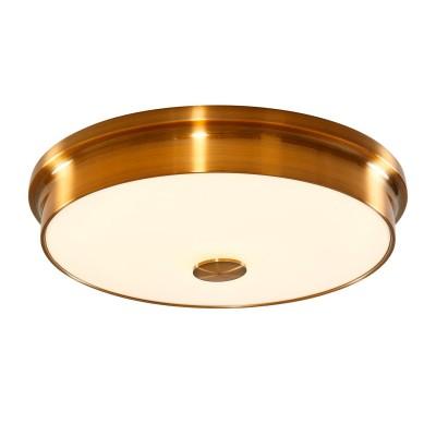 Citilux Фостер-2 CL706232 Светильник настненно-потолочныйКруглые<br>Настенно-потолочные светильники – это универсальные осветительные варианты, которые подходят для вертикального и горизонтального монтажа. В интернет-магазине «Светодом» Вы можете приобрести подобные модели по выгодной стоимости. В нашем каталоге представлены как бюджетные варианты, так и эксклюзивные изделия от производителей, которые уже давно заслужили доверие дизайнеров и простых покупателей.  Настенно-потолочный светильник Citilux CL706232 станет прекрасным дополнением к основному освещению. Благодаря качественному исполнению и применению современных технологий при производстве эта модель будет радовать Вас своим привлекательным внешним видом долгое время. Приобрести настенно-потолочный светильник Citilux CL706232 можно, находясь в любой точке России.<br><br>S освещ. до, м2: 12<br>Цветовая t, К: 3000K<br>Тип лампы: LED-светодиодная<br>Тип цоколя: LED<br>Цвет арматуры: бронзовый<br>Количество ламп: 30<br>Диаметр, мм мм: 415<br>Высота, мм: 90<br>MAX мощность ламп, Вт: 1