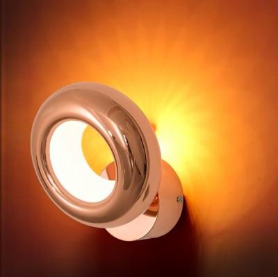 Citilux Орбита CL707312 Светильник настенный браСовременные<br><br><br>Тип лампы: LED<br>Тип цоколя: LED<br>Количество ламп: 6<br>MAX мощность ламп, Вт: 6<br>Размеры: Диаметр подвижной части 16см, Вынос от 9,5см, Светодиоды с цветовой температурой 3000К<br>Цвет арматуры: медный