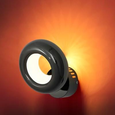 Citilux Орбита CL707313 Светильник настенный браМодерн<br><br><br>Тип лампы: LED<br>Тип цокол: LED<br>Количество ламп: 6<br>MAX мощность ламп, Вт: 6<br>Размеры: Диаметр подвижной части 16см, Вынос от 9,5см, Светодиоды с цветовой температурой 3000К<br>Цвет арматуры: черный хром