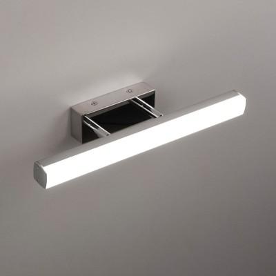 Citilux Визор CL708108 Светильник настенный браДля картин/зеркал<br><br><br>Цветовая t, К: 3000<br>Тип лампы: LED<br>Тип цоколя: LED<br>Количество ламп: 8<br>Цвет арматуры: серебристый