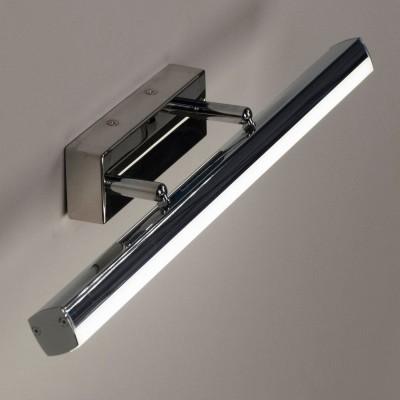 Citilux Визор CL708112 Светильник настенный браДля картин/зеркал<br><br><br>Тип лампы: LED<br>Тип цоколя: LED<br>Количество ламп: 12<br>Ширина, мм: 75<br>MAX мощность ламп, Вт: 12<br>Длина, мм: 490<br>Высота, мм: 50<br>Цвет арматуры: серебристый