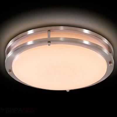 CL709151 Citilux БОСТОНкруглые светильники<br><br><br>S освещ. до, м2: 6<br>Цветовая t, К: 3000<br>Тип лампы: LED<br>Тип цоколя: LED<br>Диаметр, мм мм: 255<br>Высота, мм: 70<br>MAX мощность ламп, Вт: 15