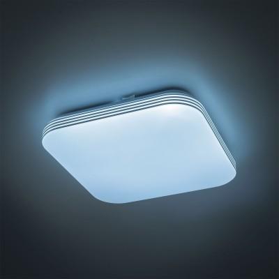 Citilux CL714K18N Светильник настенно-потолочныйКвадратные<br><br><br>Цветовая t, К: 4000<br>Тип лампы: LED<br>Тип цоколя: LED<br>Ширина, мм: 280<br>MAX мощность ламп, Вт: 18<br>Длина, мм: 280<br>Высота, мм: 65