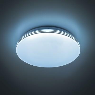 Citilux CL714R18N Светильник настенно-потолочныйКруглые<br><br><br>S освещ. до, м2: 7<br>Цветовая t, К: 4000<br>Тип лампы: LED<br>Тип цоколя: LED<br>Количество ламп: 1<br>Диаметр, мм мм: 280<br>Высота, мм: 65<br>MAX мощность ламп, Вт: 18