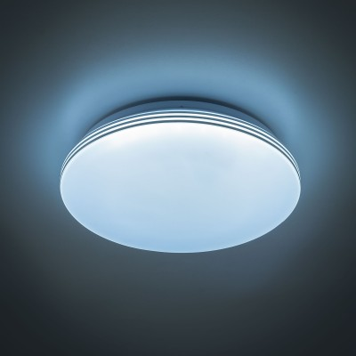 Citilux CL714R48N Светильник настенно-потолочныйКруглые<br><br><br>S освещ. до, м2: 19<br>Цветовая t, К: 4000<br>Тип лампы: LED<br>Тип цоколя: LED<br>Количество ламп: 1<br>MAX мощность ламп, Вт: 48<br>Диаметр, мм мм: 530<br>Высота, мм: 80