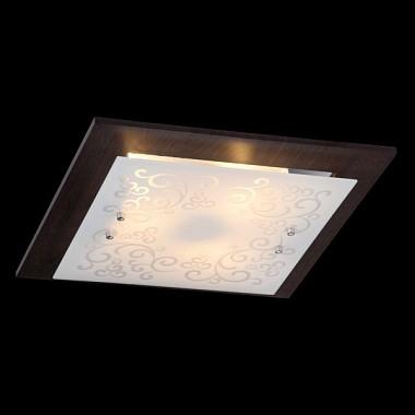 Светильник Maytoni CL811-03-R Geometry 3Квадратные<br>Квадратная форма настенно-потолочного светильника от фирмы Майтони станет изысканным дополнением интерьера. Настенно-потолочный светильник Maytoni Geometry 3 CL811-03-R, выполненный в силе модерн, выглядит солидно и дорого. Он гармонично впишется в любом помещении: квартире, ресторане, кафе. Основание коричневого цвета, изготовленного из металла, прекрасно сочетается со стеклянным плафоном, имеющим витиеватый узор. Все эти качества можно рассмотреть на фото. Стоит отметить, что светильник рассчитан на три лампы, их нужно будет купить дополнительно, поскольку они не входят в стоимость. Для покупки светильника от фирмы Maytoni по максимально выгодной цене, следует обратиться к менеджеру магазина.<br><br>S освещ. до, м2: 8<br>Тип лампы: накаливания / энергосбережения / LED-светодиодная<br>Тип цоколя: E27<br>Количество ламп: 3<br>Ширина, мм: 400<br>MAX мощность ламп, Вт: 40<br>Длина, мм: 400<br>Высота, мм: 90<br>Цвет арматуры: черный