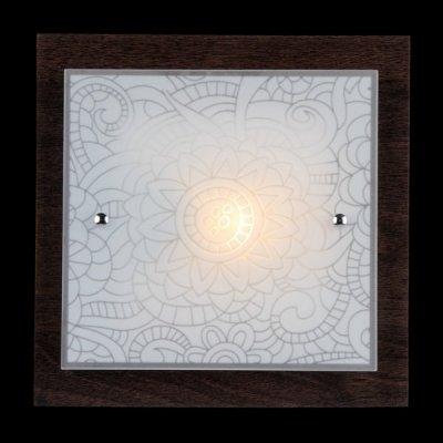 Светильник Maytoni FR4812-CL-01-BR Geometry 3Квадратные<br>Сегодня мы рады представить вам недорогой настенно-потолочный светильник от немецкого бренда Maytoni. Этот осветительный прибор, выполненный в японском стиле, идеально впишется в классический интерьер. Посмотрев на представленное фото можно увидеть, что настенно-потолочный светильник Maytoni FR4812-CL-01-BR состоит из металлического основания, к которому прикреплен стеклянный плафон с рисунком. Несмотря на свою небольшую стоимость, инженеры фирмы Майтони, сделали это изделие из материалов высокого качества. В нашем магазине вы можете купить этот осветительный прибор по невероятно низкой цене.<br><br>S освещ. до, м2: 2<br>Тип лампы: накаливания / энергосбережения / LED-светодиодная<br>Тип цоколя: E27<br>Цвет арматуры: черный<br>Количество ламп: 1<br>Ширина, мм: 270<br>Длина, мм: 270<br>Высота, мм: 90<br>MAX мощность ламп, Вт: 40