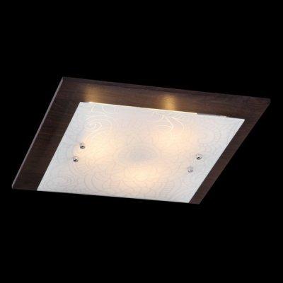Светильник Maytoni FR4812-CL-03-BR Geometry 3Квадратные<br>Отличительной особенностью настенно-потолочного светильника от фирмы Майтони, представленного на фото, является его форма. Эта модель выполнена в стиле модерн и подойдет для оформления любого помещения. Основание цвета венге и стеклянный плафон с узорным рисунком чудесным образом сочетаются в настенно-потолочном светильнике Maytoni Geometry 3 FR4812-CL-03-BR. Для работы потребуется три лампы, которые нужно купить дополнительно. Для крепления используется монтажная пластина. Стоимость настенно-потолочного светильника от Maytoni очень демократична и позволяет<br><br>S освещ. до, м2: 8<br>Тип лампы: накаливания / энергосбережения / LED-светодиодная<br>Тип цоколя: E27<br>Цвет арматуры: черный<br>Количество ламп: 3<br>Ширина, мм: 400<br>Длина, мм: 400<br>Высота, мм: 90<br>MAX мощность ламп, Вт: 40