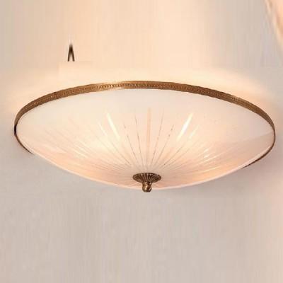 Citilux Кристалл CL912501 Светильник настенно-потолочныйКруглые<br>Настенно потолочный светильник Citilux (Ситилюкс) CL912501  подходит как для установки в вертикальном положении - на стены, так и для установки в горизонтальном - на потолок. Для установки настенно потолочных светильников на натяжной потолок необходимо использовать светодиодные лампы LED, которые экономнее ламп Ильича (накаливания) в 10 раз, выделяют мало тепла и не дадут расплавиться Вашему потолку.<br><br>S освещ. до, м2: 25<br>Тип лампы: накаливания / энергосбережения / LED-светодиодная<br>Тип цоколя: E27<br>Количество ламп: 5<br>MAX мощность ламп, Вт: 75<br>Диаметр, мм мм: 500<br>Размеры: Диаметр 50см, Высота 16см<br>Высота, мм: 160<br>Поверхность арматуры: глянцевый, рельефный<br>Цвет арматуры: Золотой