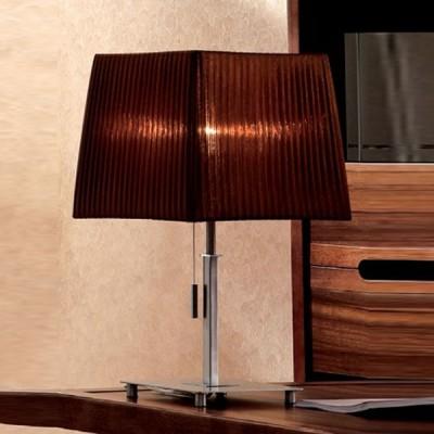 Citilux Шоколадный CL914812 Настольная лампаС абажуром<br>Настольная лампа – это не просто источник дополнительного освещения, но и оригинальный элемент декора. Его можно установить в спальне, гостиной, кабинете и других комнатах. Интернет-магазин «Светодом» предлагает настольные лампы разных стилей по доступным ценам. Благодаря большому ассортименту Вы обязательно найдете в нашем каталоге именно ту модель, которую искали.   Настольная лампа Citilux CL914812 – прекрасный вариант для завершения интерьера. Ее можно включить одновременно с люстрой для более яркого освещения или без нее для создания уютной атмосферы, настраивающей на отдых.   Купить настольную лампу Citilux CL914812 Вы можете с помощью виртуальной «Корзины» или по контактным номерам, указанным на сайте.<br><br>S освещ. до, м2: 5<br>Тип лампы: накал-я - энергосбер-я<br>Тип цоколя: E27<br>Количество ламп: 1<br>Ширина, мм: 250<br>MAX мощность ламп, Вт: 75<br>Размеры: Габариты 25х25см, Высота 43см<br>Высота, мм: 430<br>Поверхность арматуры: глянцевый<br>Цвет арматуры: серебристый