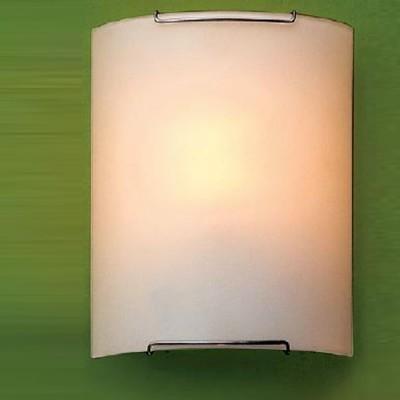 Citilux Белый CL921000 Светильник настенный браНакладные<br><br><br>S освещ. до, м2: 6<br>Тип лампы: накаливания / энергосбережения / LED-светодиодная<br>Тип цоколя: E27<br>Количество ламп: 1<br>Ширина, мм: 200<br>MAX мощность ламп, Вт: 100<br>Размеры: Стеклянный рассеиватель, Высота 25см, Ширина 20см, Глубина 9см.<br>Расстояние от стены, мм: 90<br>Высота, мм: 250<br>Поверхность арматуры: глянцевый<br>Цвет арматуры: серебристый
