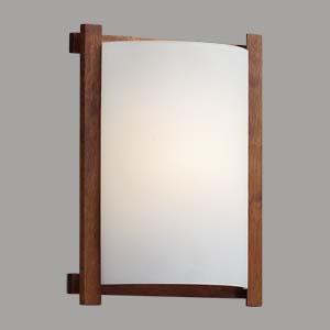 Citilux Белый CL921000R Светильник настенный браНакладные<br><br><br>S освещ. до, м2: 6<br>Тип лампы: накаливания / энергосбережения / LED-светодиодная<br>Тип цоколя: E27<br>Количество ламп: 1<br>Ширина, мм: 245<br>MAX мощность ламп, Вт: 100<br>Размеры: Стеклянный рассеиватель, Высота 25см, Ширина 20см, Глубина 9см.<br>Длина, мм: 290<br>Расстояние от стены, мм: 90<br>Поверхность арматуры: матовый<br>Цвет арматуры: деревянный, коричневый, венге
