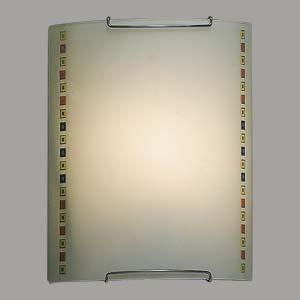 Citilux Кубики CL921006 Светильник настенный браНакладные<br><br><br>S освещ. до, м2: 6<br>Тип лампы: накаливания / энергосбережения / LED-светодиодная<br>Тип цоколя: E27<br>Цвет арматуры: серебристый<br>Количество ламп: 1<br>Ширина, мм: 200<br>Размеры: Стеклянный рассеиватель, Высота 25см, Ширина 20см, Глубина 9см.<br>Расстояние от стены, мм: 90<br>Высота, мм: 250<br>Поверхность арматуры: глянцевый<br>MAX мощность ламп, Вт: 100