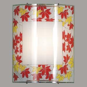 Citilux Осень CL921008 Светильник настенный браНакладные<br><br><br>S освещ. до, м2: 6<br>Тип лампы: накаливания / энергосбережения / LED-светодиодная<br>Тип цоколя: E27<br>Количество ламп: 1<br>Ширина, мм: 200<br>MAX мощность ламп, Вт: 100<br>Размеры: Стеклянный рассеиватель, Высота 25см, Ширина 20см, Глубина 9см.<br>Расстояние от стены, мм: 90<br>Высота, мм: 250<br>Поверхность арматуры: матовый<br>Цвет арматуры: серебристый