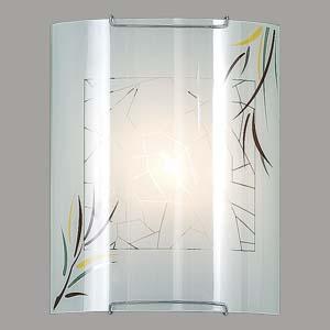 Citilux Ива CL921009 Светильник настенный браНакладные<br><br><br>S освещ. до, м2: 6<br>Тип лампы: накаливания / энергосбережения / LED-светодиодная<br>Тип цоколя: E27<br>Количество ламп: 1<br>Ширина, мм: 200<br>MAX мощность ламп, Вт: 100<br>Размеры: Стеклянный рассеиватель, Высота 25см, Ширина 20см, Глубина 9см.<br>Расстояние от стены, мм: 90<br>Высота, мм: 250<br>Поверхность арматуры: глянцевый<br>Цвет арматуры: серебристый