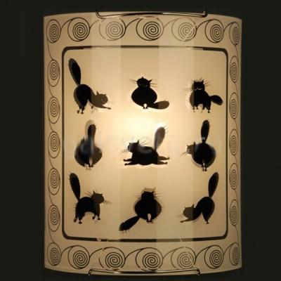 Citilux Коты CL921023 Светильник настенный браНакладные<br><br><br>S освещ. до, м2: 6<br>Крепление: планка<br>Тип лампы: накаливания / энергосбережения / LED-светодиодная<br>Тип цоколя: E27<br>Количество ламп: 1<br>Ширина, мм: 200<br>MAX мощность ламп, Вт: 100<br>Размеры: Стеклянный рассеиватель, Высота 25см, Ширина 20см, Глубина 9см.<br>Расстояние от стены, мм: 90<br>Высота, мм: 250<br>Поверхность арматуры: глянцевый<br>Цвет арматуры: серебристый