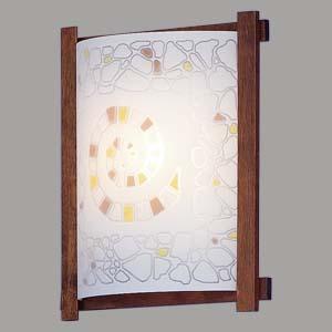 Citilux Улитка CL921111R Светильник настенный браНакладные<br><br><br>S освещ. до, м2: 6<br>Тип лампы: накаливания / энергосбережения / LED-светодиодная<br>Тип цоколя: E27<br>Количество ламп: 1<br>Ширина, мм: 245<br>MAX мощность ламп, Вт: 100<br>Размеры: Стеклянный рассеиватель, Высота 25см, Ширина 20см, Глубина 9см.<br>Расстояние от стены, мм: 90<br>Высота, мм: 290<br>Поверхность арматуры: матовый<br>Цвет арматуры: деревянный, коричневый, венге