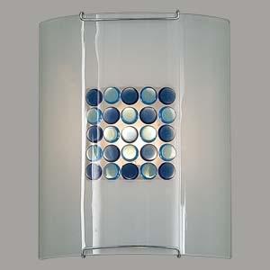 Citilux Конфетти CL921313 Светильник настенный бранакладные настенные светильники<br><br><br>S освещ. до, м2: 6<br>Тип лампы: накаливания / энергосбережения / LED-светодиодная<br>Тип цоколя: E27<br>Цвет арматуры: серебристый<br>Количество ламп: 1<br>Ширина, мм: 200<br>Размеры: Стеклянный рассеиватель, Кофейные и Желтые элементы приклеены изнутри,  Высота 25см, Ширина 20см, Глубина 9см.<br>Расстояние от стены, мм: 90<br>Высота, мм: 250<br>Поверхность арматуры: глянцевый<br>MAX мощность ламп, Вт: 100
