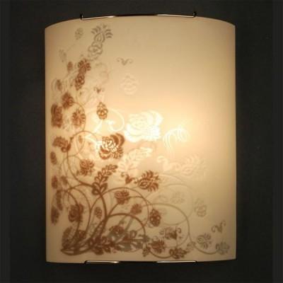 Citilux Флора CL922015 Светильник настенный браНакладные<br><br><br>S освещ. до, м2: 13<br>Крепление: планка<br>Тип лампы: накаливания / энергосбережения / LED-светодиодная<br>Тип цоколя: E27<br>Количество ламп: 2<br>Ширина, мм: 240<br>MAX мощность ламп, Вт: 100<br>Размеры: Стеклянный рассеиватель, Высота 30см, Ширина 24см, Глубина 11см.<br>Расстояние от стены, мм: 110<br>Высота, мм: 300<br>Поверхность арматуры: глянцевый<br>Цвет арматуры: серебристый